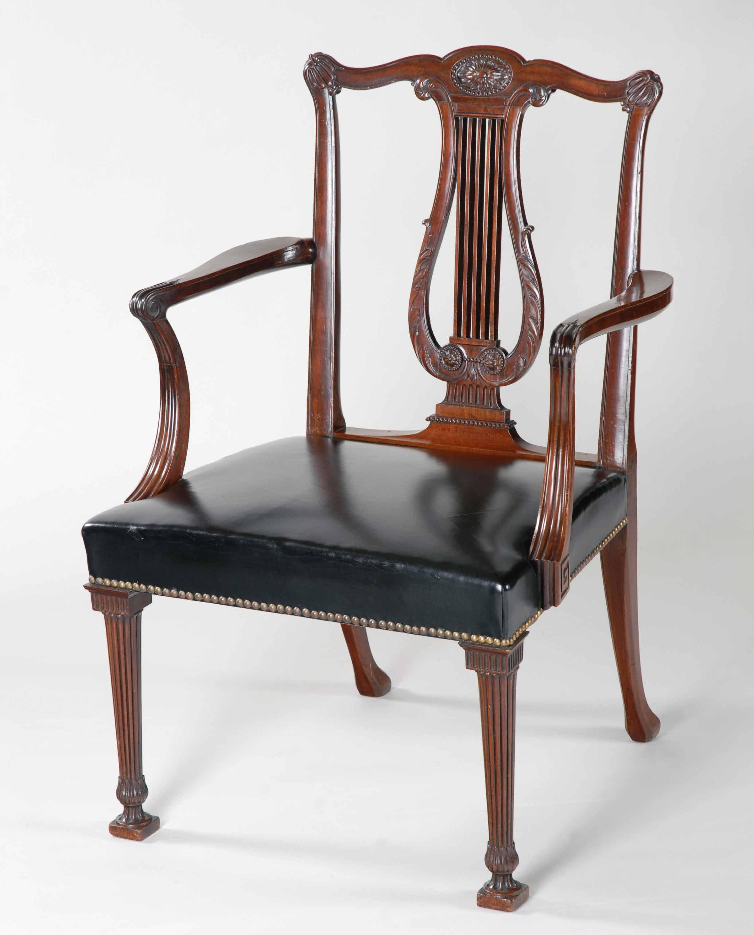 12. Library armchair ex Brocket