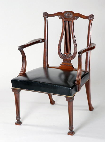 Chippendale Library Chair
