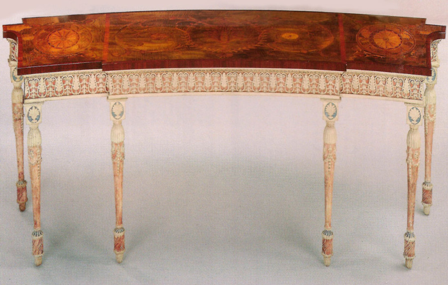 Chippendale pier table for Harewood House