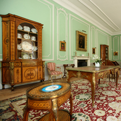 Italian Room, Firle Place, Sussex.