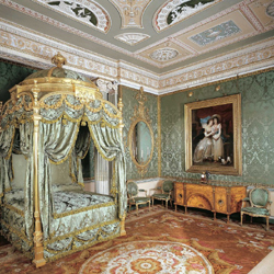 State Bed, Harewood House, Leeds, Yorkshire.