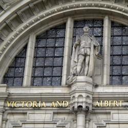 Entrance, Victoria & Albert Museum, London.